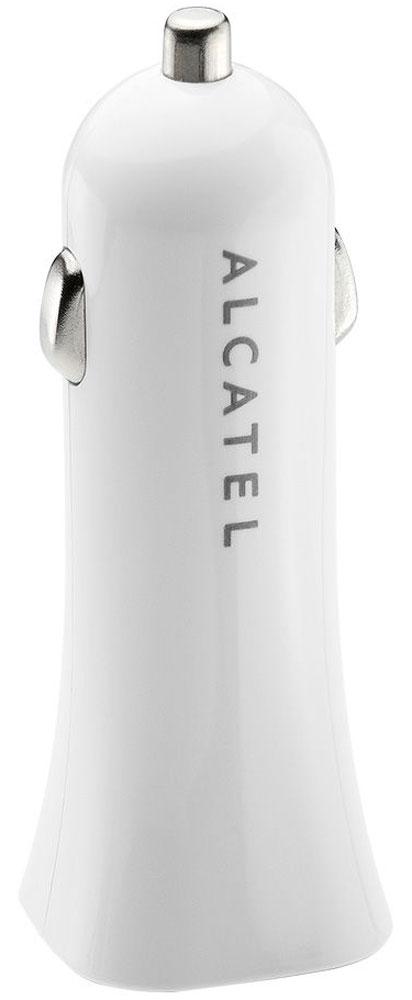 Alcatel CC40-2BALRU1, White автомобильное зарядное устройство