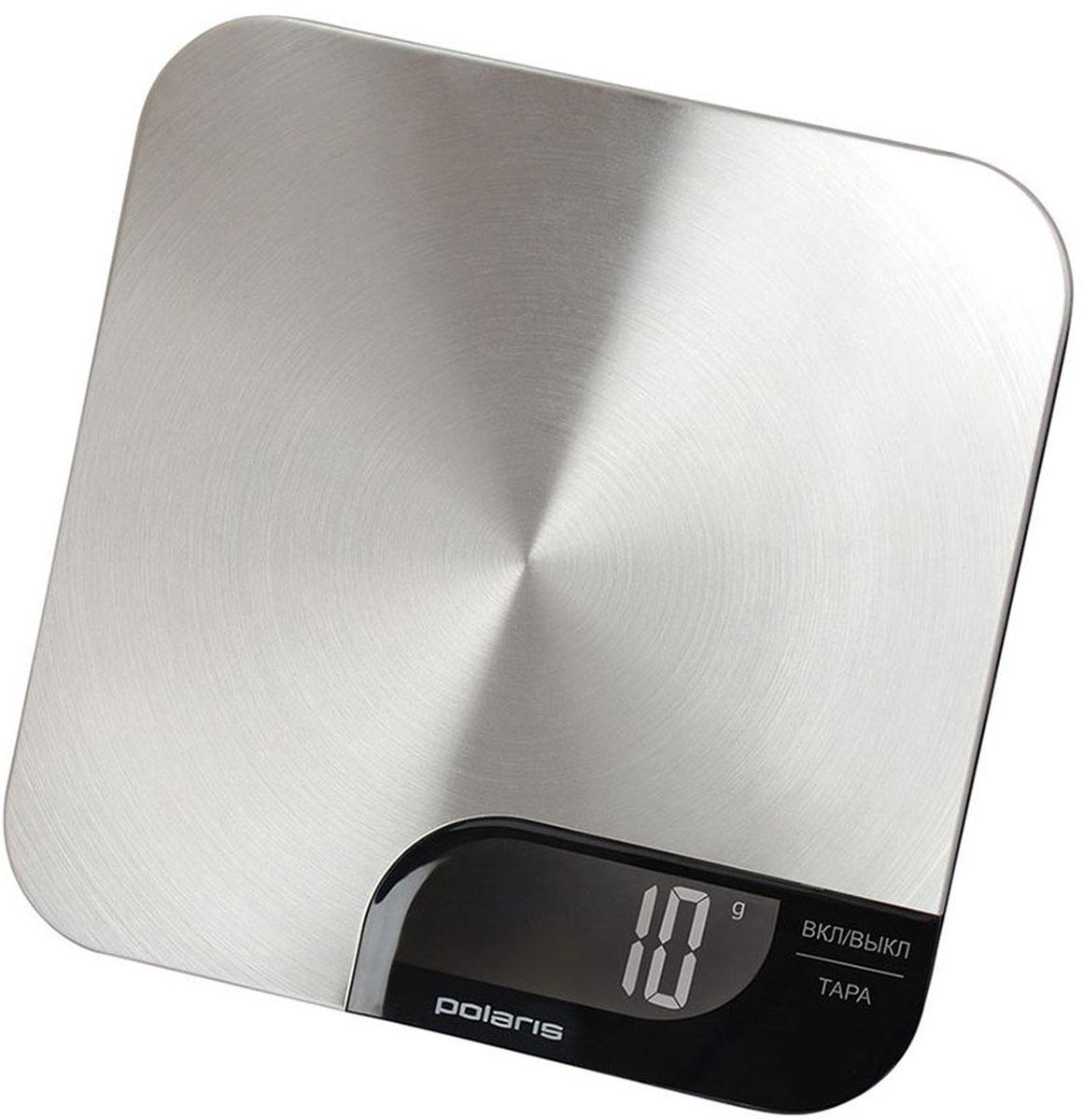 Polaris PKS 0538DM кухонные весыPKS 0538DMКухонные электронные весы Polaris PKS 0538DM - незаменимые помощники современной хозяйки. Они помогут точно взвесить любые продукты и ингредиенты. Кроме того, позволят людям, соблюдающим диету, контролировать количество съедаемой пищи и размеры порций. Предназначены для взвешивания продуктов с точностью измерения до 1 грамма. Также эти весы имеют сенсорное управление и удобную подстветку. Очень тонкий корпус Функция обнуления веса