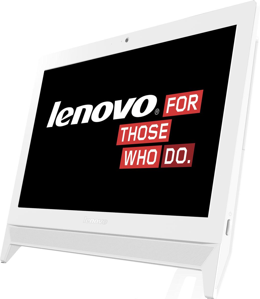 Lenovo C20-00, White моноблок (F0BB00YERK)F0BB00YERKПусть этот тонкий и изящный моноблок станет вашим новым домашним ПК. Lenovo C20-00, оснащенный новейшим процессором, совмещает функциональность, производительность и привлекательную цену. Благодаря стереофоническим динамикам и выходу HDMI, этот компьютер можно использовать в качестве домашнего развлекательного центра, обеспечивающего четкое изображение и высочайшее качество воспроизведения звука. Дисплей C20-00 занимает очень мало места на вашем столе, стойке или в развлекательном центре. Великолепный 19,5-дюймовый дисплей за счет удобной системы фиксации кабелей занимает минимум места. Ощутите эффект полного присутствия при общении с друзьями и родственниками в видеочате с веб-камерой высокого разрешения 720p. Точные характеристики зависят от модификации. Моноблок сертифицирован EAC и имеет русифицированную клавиатуру и Руководство пользователя.
