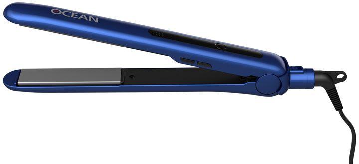 Dewal 03-400 Ocean, Blue выпрямитель для волос03-400 BlueВыпрямитель для волос Dewal 03-400 Ocean справится даже с самым непослушными волосами. Данная модель оснащена качественным керамическим турмалиновым покрытием пластин. Выпрямитель прост в использовании благодаря стильному эргономичному дизайну.