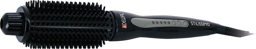 Dewal 03-305 Stilissimo 2, Black щипцы для завивки волос03-305Завить красивые локоны можно максимально просто, если воспользоваться удобными электрощипцами Dewal 03-305 Stilissimo 2. Это устройство выделяется на фоне многочисленных аналогов привлекательным внешним видом, удобным управлением, возможностью регулировки степени нагрева, а также качественным покрытием насадки, которое не повреждает волосы и сохраняет их природное здоровье. Электрощипцы Dewal 03- 305 Stilissimo 2 станут прекрасным дополнением к устройствам для укладки волос.