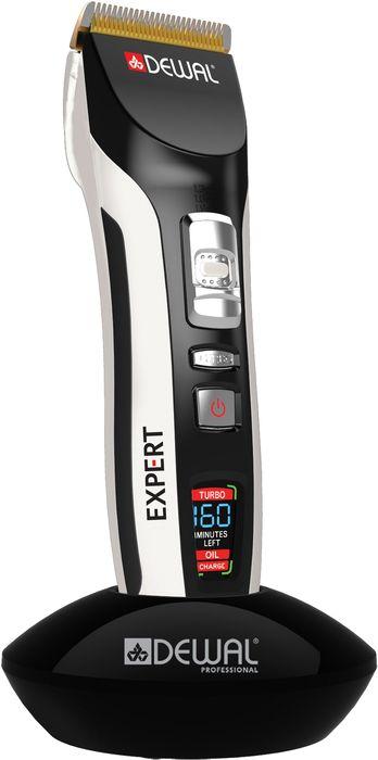 Dewal 03-073 Expert, Black машинка для стрижки волос03-073Инновационная машинка Dewal Expert 03-073 имеет очень низкий показатель уровеня шума и вибрации и самый совершенный литий-полимерный аккумулятор, гарантирующий продолжительную работу и отсутствие эффекта памяти. Аккумуляторно-сетевая роторного типа, низкий уровень шума и вибрации, время работы от аккумулятора - 160 мин.