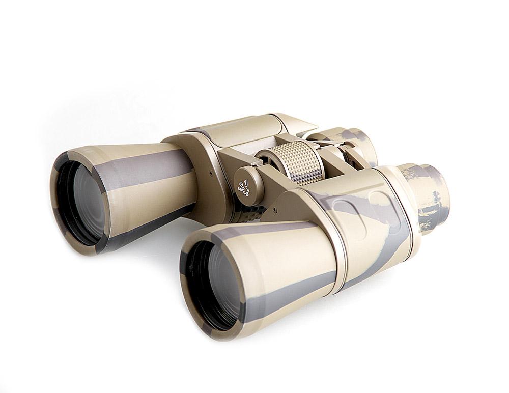 Бинокль Veber Classic, цвет: камуфляж, БПЦ 7x50 VR10957Классические «военно-морские» оптические характеристики. Широкий угол и большая светосила. Металлический корпус, трудноистираемое просветляющее покрытие оптики и удобные для работы в перчатках колесики настройки фокусировки. Полужесткий кейс. ОПИСАНИЕ Бинокль Veber Classic БПЦ 7x50 имеет классические «военно-морские» оптические характеристики. Широкое поле зрения позволяет легко обнаружить и удерживать цель в поле зрения, например, при качке. Линзы объектива имеют диаметр 50 мм (они собирают в 2 раза больше света, чем линзы диаметром 35 мм), это позволяет вести наблюдение в глубоких сумерках. Бинокль Veber Classic БПЦ 7x50 имеет металлический корпус и трудноистираемое просветляющее покрытие на линзах объективов и окуляров. Особенности Широкое поле зрения Возможность использования в темное время суток Призмы Porro Металлический корпус Многослойное, трудностираемое просветляющее покрытие объективов и окуляров Центральная...