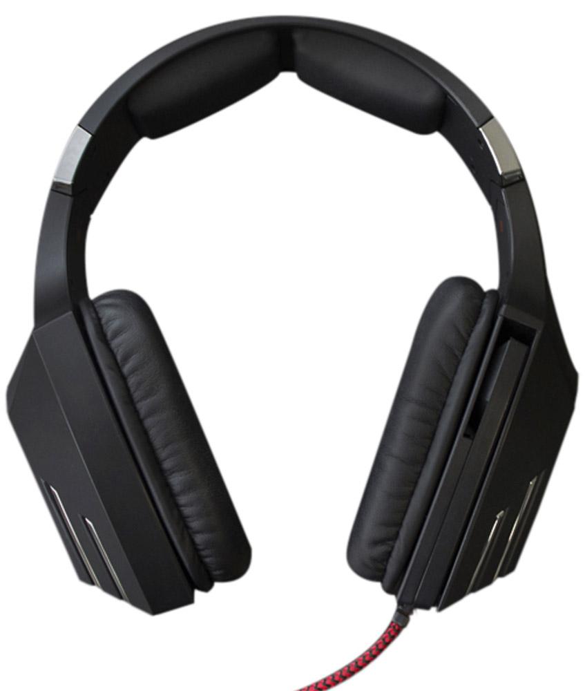 Qcyber Dragon 2, Black игровые наушникиQC-01-005DV01Игровая гарнитура Qcyber Dragon Black предлагает пользователю насладиться всеми преимуществами виртуализированного звука 7.1. Восьмиканальная система пространственного звучания, обычно идущая в комплекте с дорогими зарубежными устройствами, теперь доступна каждому владельцу гарнитуры Qcyber Dragon Black. Побеждать с этой гарнитурой станет проще, потому что вы сможете точнее ориентироваться в виртуальном мире и слышать, с какой стороны к вам пытается подобраться противник. Звуковая карта, необходимая для виртуализации звука, установлена прямо в гарнитуру, остается только подсоединить Dragon к USB-разъему и установить драйвера! Микрофон Dragon – узконаправленный и имеет функцию шумоподавления, а это означает, что ваши соратники на другом конце провода будут слышать вас и только вас. Управление микрофоном осуществляется одним движением руки: для того, чтобы выключить его, достаточно просто повернуть держатель!