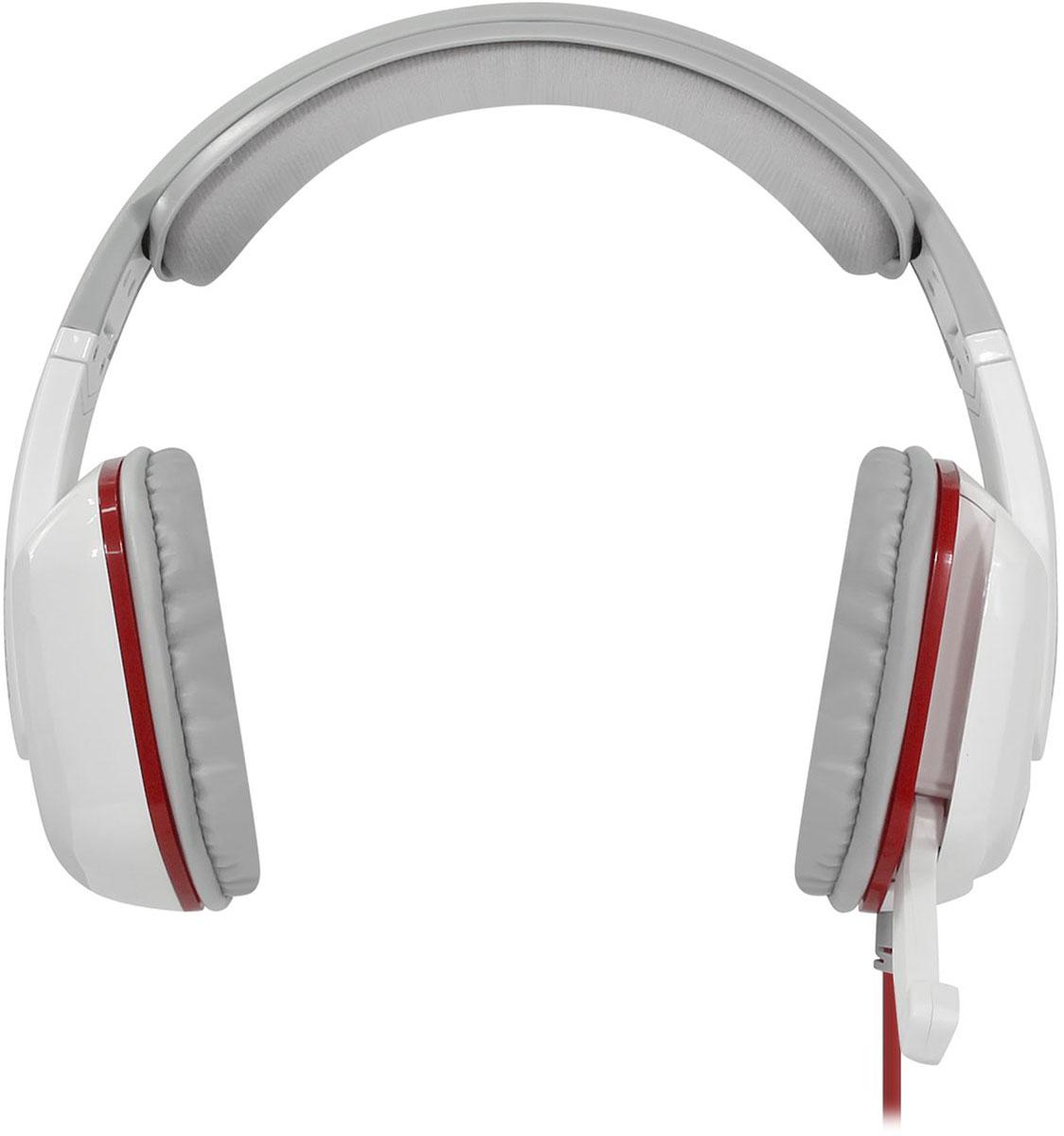 Qcyber GH9000, White игровые наушники