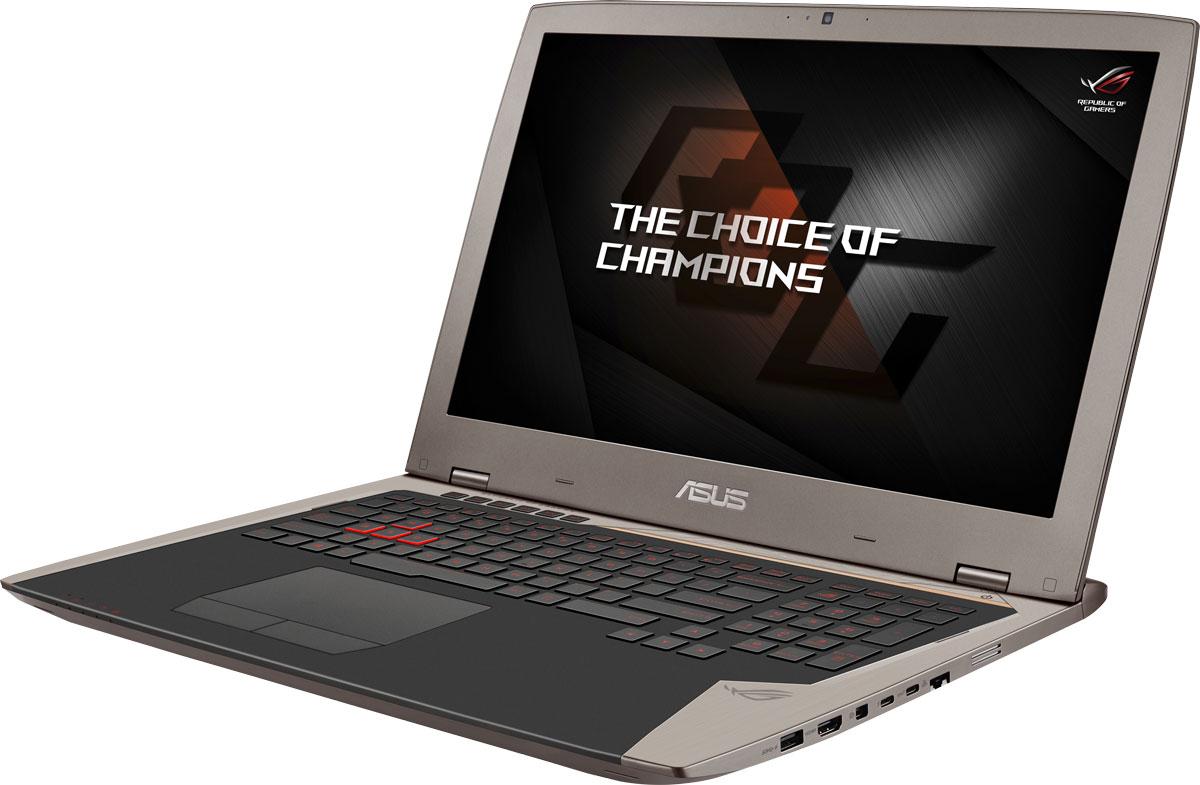 Asus ROG G701VI (G701VI-BA006T)G701VI-BA006TДля тех, кто предпочитает мощные, но мобильные решения, команда ROG предлагает ноутбук G701. За счет мощной конфигурации, включающей в себя разгоняемую видеокарту NVIDIA GeForce GTX 1080, он ничуть не уступает по своей производительности стационарным геймерским компьютерам самого высокого класса. В аппаратную конфигурацию ноутбука ROG G701VI входит мощная видеокарта NVIDIA GeForce GTX 1080 и разгоняемый процессор Intel i7 K-серии, поэтому он сравним по производительности со стационарными геймерскими компьютерами самого высокого класса. Что удивительно, все эти компоненты умещаются в стильном корпусе толщиной не более 3,5 см, а значит, в отличие от стационарных систем, такую игровую станцию можно легко взять с собой в дорогу! Видеокарта NVIDIA GeForce GTX 1080 предлагает полную совместимость с современными системами виртуальной реальности и высокую производительность, необходимую для их надлежащей работы. ROG G701VI оснащается дисплеем с...