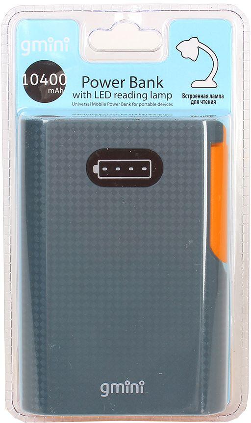 Gmini mPower GM-PB104L внешний аккумулятор (10400 мАч) + встроенная LED-лампа