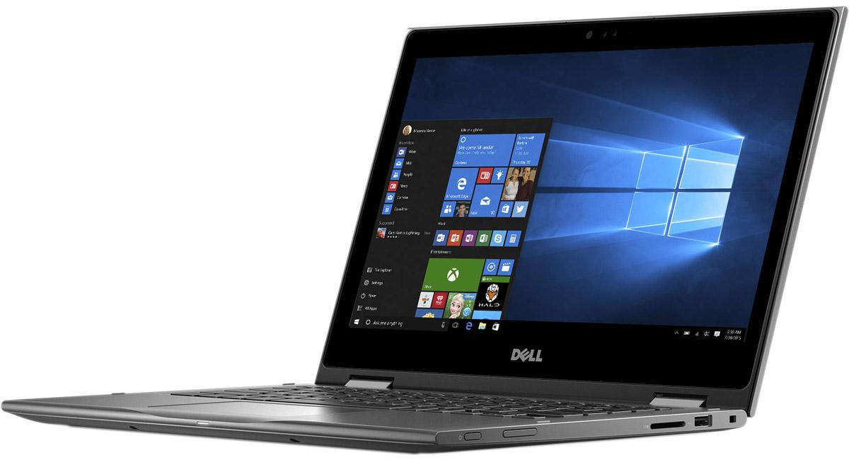 Dell Inspiron 5378-0018, Grey5378-0018Ноутбук «2 в 1» Dell Inspiron 5378 выполнен в привлекательном дизайне и оснащается сенсорным дисплеем формата Full HD (1920 x 1080 точек) с широкими углами обзора. Ноутбук обеспечивает широкую функциональность и удобные опции. Возможность поворота на 360 градусов позволяет использовать ноутбук в четырех режимах. Это режим ноутбука для работы с документами, режим презентации для выступлений перед аудиторией, режим стенда для потоковой передачи фильмов и режим планшета для общения в социальных сетях. Инфракрасная камера с поддержкой технологии Windows Hello позволяет отказаться от пароля и входить в свою учетную запись посредством распознавания лица пользователя, а клавиатура с подсветкой позволяет комфортно работать в условиях недостаточной освещенности. ПО для управления звуком Waves MaxxAudio Pro повышает качество воспроизведения мультимедиа, а беспроводное соединение стандарта IEEE 802.11ac с большим диапазоном и высоким быстродействием...