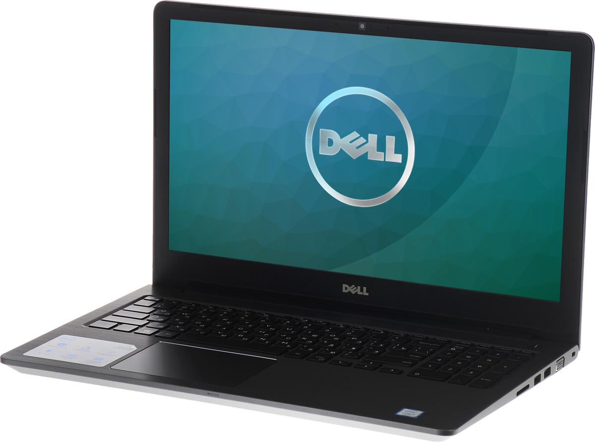 Dell Vostro 5568-9951, Grey5568-995115-дюймовый ноутбук Dell Vostro 5568, рассчитанный на производительность в типичном малом бизнесе, оснащенный клавиатурой с подсветкой, цифровой клавиатурой и функциями безопасности. Устройство имеет улучшенную легкую конструкцию и стильный внешний вид. Простота расширения: конфигурация с двумя накопителями, жестким диском и твердотельным диском, а также двумя разъемами для модулей SoDIMM DDR4 означает, что вашу систему можно будет модернизировать по мере необходимости. Превосходное изображение, четкий звук: яркий антибликовый дисплей с разрешением HD выдает впечатляющую картинку. Встроенная веб-камера с разрешением HD и программное обеспечение Waves MaxxAudio Pro позволяют при удаленной работе слышать друг друга исключительно четко. Дополнительное удобство: точная сенсорная панель, цифровая клавиатура и дополнительная клавиатура с подсветкой делают работу более удобной. Надежная связь. Благодаря широкому набору портов, включая...