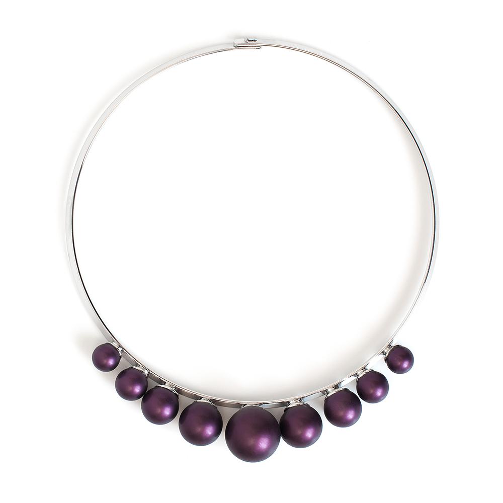 Колье Selena, цвет: фиолетовый. 1010329110103291