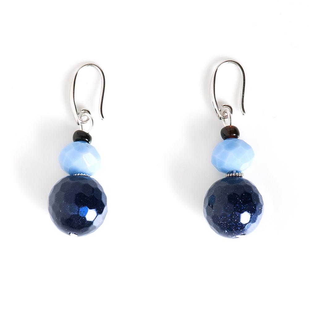 Серьги Selena, цвет: голубой, синий. 2009322020093220