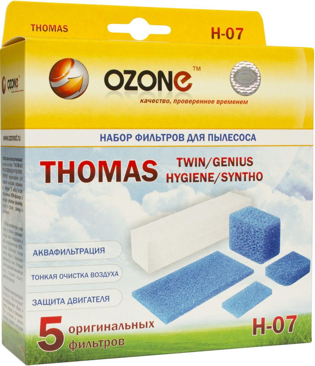 Ozone H-07 набор фильтров для пылесосов ThomasH-07HEPA фильтр Ozone microne H-07 высокоэффективной очистки предназначен для завершающей очистки воздуха в помещении, которое требует высокое качество воздуха, например, медицинских помещений. Фильтр состоит из мелкопористых материалов, что служит эффективному задерживанию частиц размером до 0,3 мкм. Фильтры HEPA последнего поколения имеют степень очистки воздуха около 95-97%. Фильтры не подлежат к промывке, а значит, они являются одноразовыми.