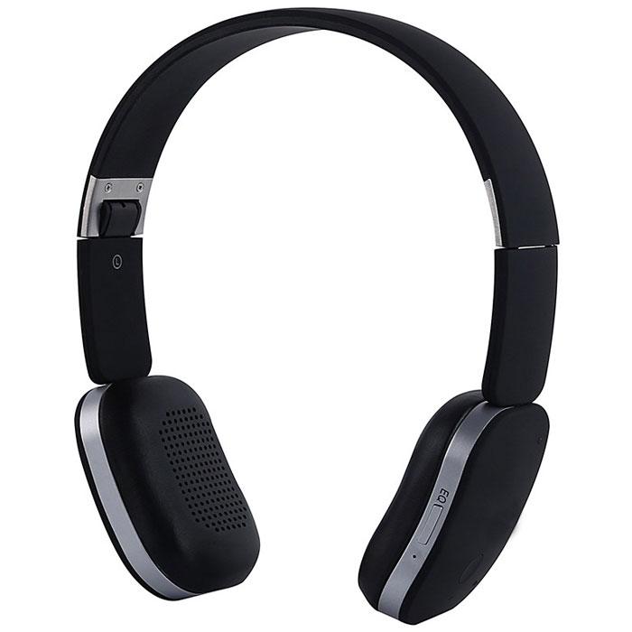Denn DHB221, Black наушникиDHB221Denn DHB221 - Bluetooth-гарнитура со складным оголовьем. Она снабжена встроенным микрофоном с защитой от шумов, который обеспечивает четкую передачу речи. Динамики наушников оснащены излучателями большого диаметра и мощными магнитами. Они могут воспроизводить без малейших помех звуки любой частоты. Для приема входящих звонков, изменения уровня громкости или переключения треков не обязательно доставать телефон из кармана – достаточно прикоснуться к сенсорной панели на одной из чашек наушников. Складная конструкция позволяет быстро подобрать оптимальное положение устройства, а также значительно облегчает его транспортировку.