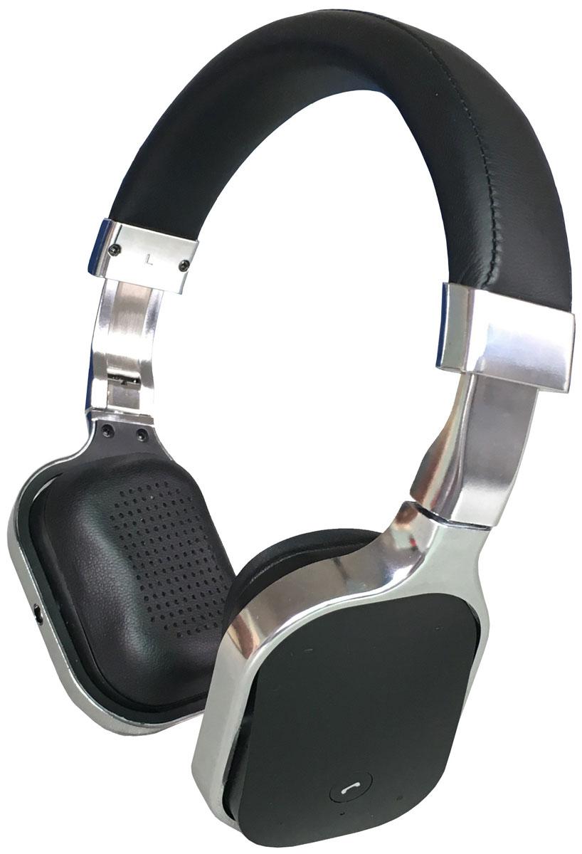 Denn DHB341, Silver Bluetooth-гарнитураDHB341Denn DHB341 - Bluetooth-гарнитура с алюминиевым корпусом, декоративными пластиковыми вставками и кожаным оголовьем. Динамики наушников оснащены излучателями большого диаметра и мощными магнитами. Они могут воспроизводить без малейших помех звуки любой частоты. Для приема входящих звонков, изменения уровня громкости или переключения треков не обязательно доставать телефон из кармана - достаточно прикоснуться к сенсорной панели на одной из чашек наушников. Складная конструкция позволяет быстро подобрать оптимальное положение устройства, а также значительно облегчает его транспортировку.