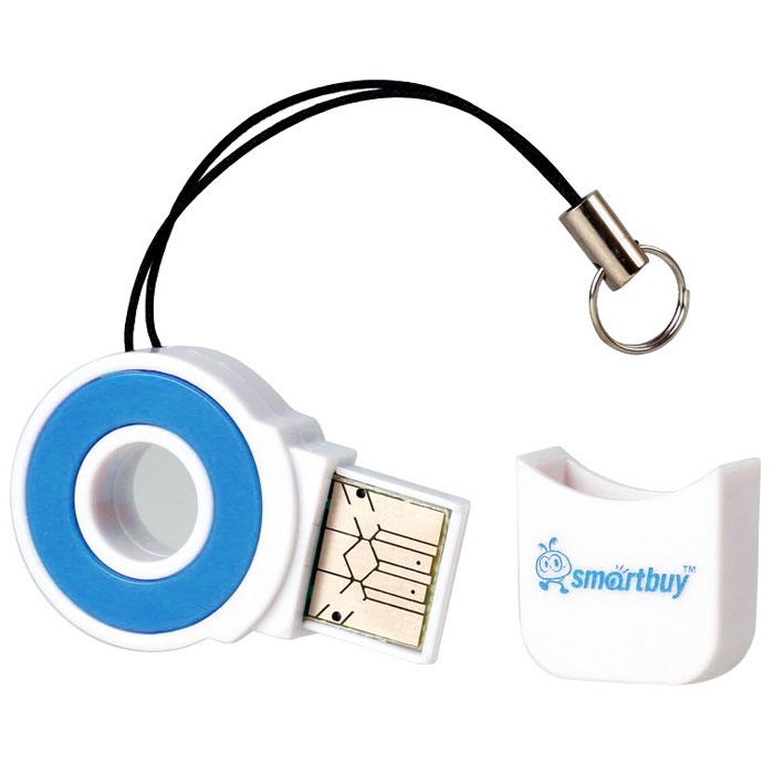 Smartbuy SBR-708-B, Blue картридер