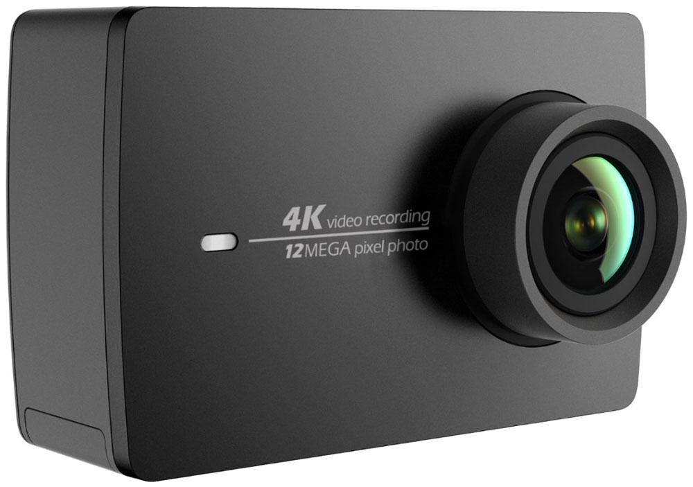 Xiaomi YI 4K, Black экшн камера90003Экшн камера Xiaomi YI 4K - это ультимативное решение для отдыха и туризма, позволяющее запечатлеть самые яркие моменты вашего путешествия в высоком разрешении 4K. Модель оснащена процессором Ambarella A9SE75, сенсором Sony IMX377, и 7-элементными стеклянными линзами. Эта камера собрала воедино сразу все передовые достижения техники. Xiaomi YI 4K обеспечит максимальное качество, универсальность и простоту использования. 7-элементная стеклянная линза с апертурой F2.8 позволяет поймать больше света и сделать кадры четче и детальнее. Специально изготовленный сенсорный экран с высоким разрешением и плотностью 330 ppi для интуитивного управления. Дисплей с диагональю 2.19 дюйма (5.5 см) покрыт Gorilla Glass для защиты от царапин и ударов. Угол обзора экрана 160°. Вы не пропустите лучший кадр на широком дисплее с разрешением 640х360 и сможете просмотреть снятый материал. Управляйте Xiaomi YI 4K кончиками пальцев одной руки, вторая рука не ...