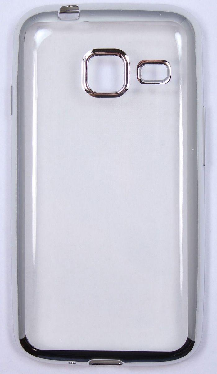 Red Line iBox Blaze чехол для Samsung Galaxy J1 mini (2016), SilverУТ000009699Практичный и тонкий силиконовый чехол Red Line iBox Blaze для Samsung Galaxy J1 mini (2016) с эффектом металлических граней защищает телефон от царапин, ударов и других повреждений. Чехол изготовлен из высококачественного материала, плотно облегает смартфон и имеет все необходимые технологические отверстия, соответствующие модели телефона. Силиконовый чехол Red Line iBox Blaze долгое время сохраняет свою первоначальную форму и не растягивается на смартфоне.
