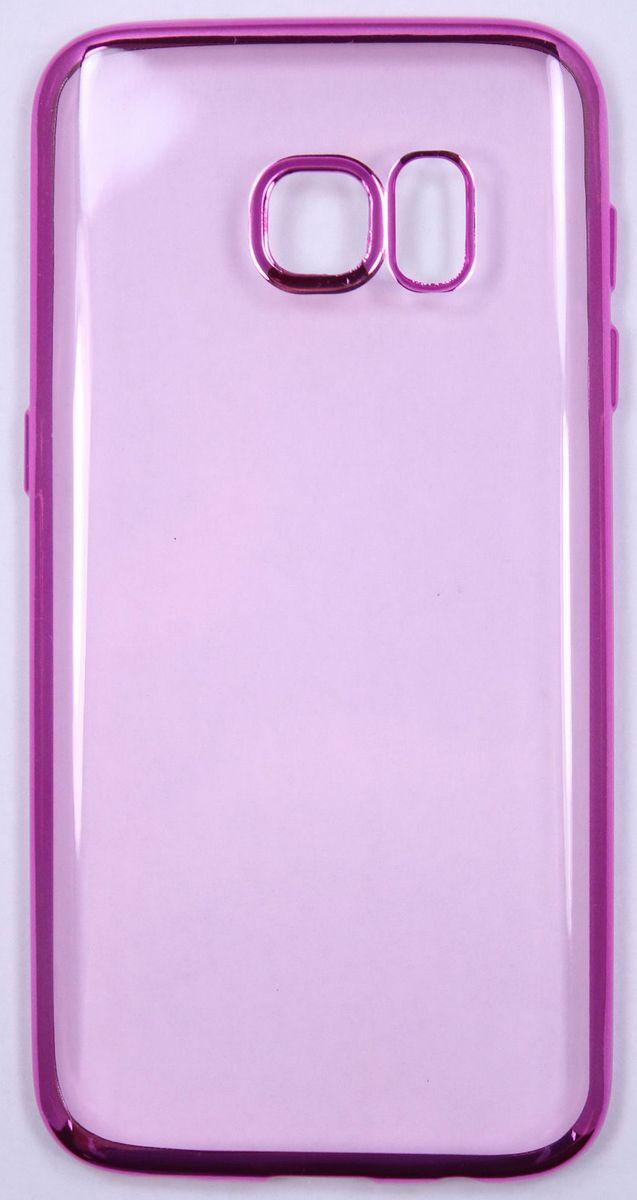 Red Line iBox Blaze чехол для Samsung Galaxy S7 Edge, PinkУТ000009623Практичный и тонкий силиконовый чехол Red Line iBox Blaze для Samsung Galaxy S7 Edge с эффектом металлических граней защищает телефон от царапин, ударов и других повреждений. Чехол изготовлен из высококачественного материала, плотно облегает смартфон и имеет все необходимые технологические отверстия, соответствующие модели телефона. Силиконовый чехол Red Line iBox Blaze долгое время сохраняет свою первоначальную форму и не растягивается на смартфоне.