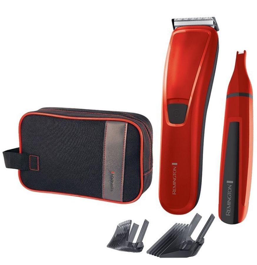 Remington HC 5302, Red набор для стрижки волосHC 5302Усовершенствованная геометрия лезвий – максимальный режущий момент для чистой стрижки; Лезвия «AcuAngle» – 5 стадий штамповки лезвий для исключительной точности и наклон 42°; Система регулировки насадки-гребня «SlideSelect» с блокировкой; Лезвия из нержавеющей стали; Проводная/беспроводная, до 40 минут в беспроводном режиме; Зарядка за 14-16 часов; 2 регулируемые насадки-гребня – 1- 42мм; LED индикация заряда; 3 года гарантии; ПЛЮС Триммер для зон носа/ушей; Чехол для хранения и путешествий