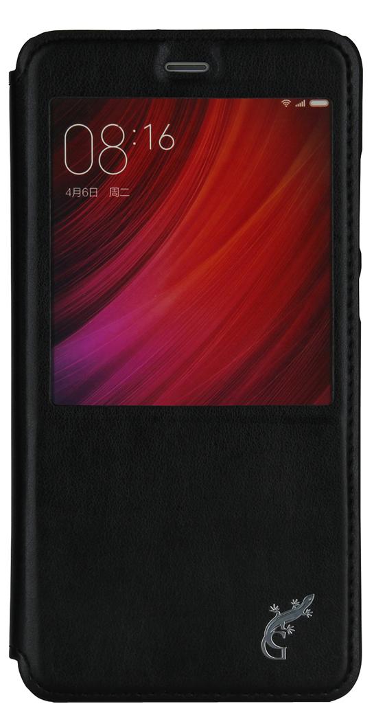 G-Case Slim Premium чехол для Xiaomi Redmi Note 4, BlackGG-749Чехол-книжка G-Case Slim Premium для Xiaomi Redmi Note 4 c окошком надежно защитит ваш смартфон от пыли, грязи, царапин, оставив при этом свободный доступ ко всем разъемам устройства. Также имеется возможность использования чехла в виде настольной подставки. Чехол G-Case Slim Premium - это стильная и элегантная деталь вашего образа, которая всегда обращает на себя внимание среди множества вещей.