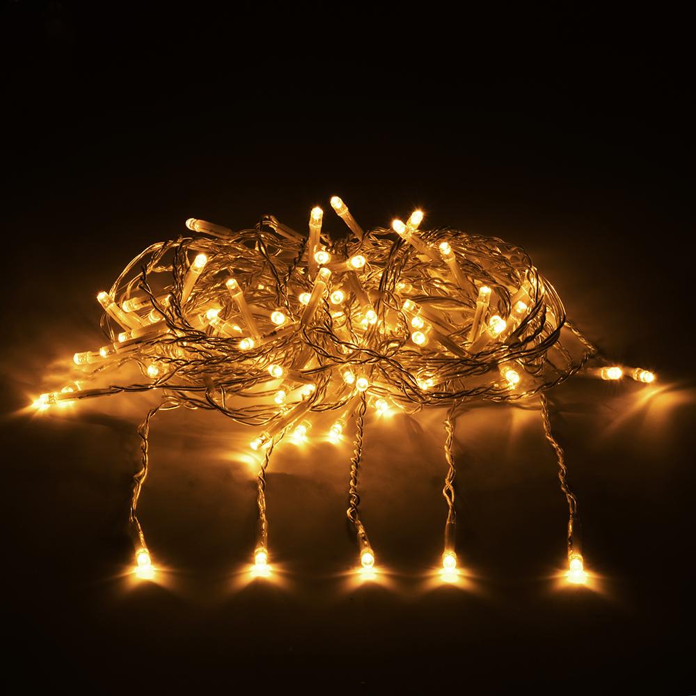 Гирлянда-конструктор электрическая Vegas Занавес, 96 ламп, длина 2 м, свет: желтый. 5502255022Уважаемые клиенты! Обращаем ваше внимание - трансформатор не входит в комплект! Приобретается отдельно. Профессиональная серия гирлянд VEGAS - Гирлянды-конструктор (24V). Универсальные гирлянды используются для внешнего и внутреннего декорирования (дома, рестораны, загородные дома, мероприятия), для применение как в зимний период, так и летом. Есть возможность последовательного соединения до 1 500 LED. Трансформатор НЕ входит в комплект! Приобретается отдельно. Без трансформатора VEGAS гирлянду невозможно подключить к электричеству. Электрогирлянды и аксессуары марки VEGAS не подключаются к электрогирляндам других производителей. Преимущества гирлянд ТМ «VEGAS»: - абсолютная безопасность для людей и животных (питание 24 v); - большой срок службы (до 25 000 часов); - универсальность (гирлянды имеют прозрачный провод, который впишется в любую цветовую интерьерную гамму, и соединяются между собой при помощи единых влагозащитных коннекторов); ...