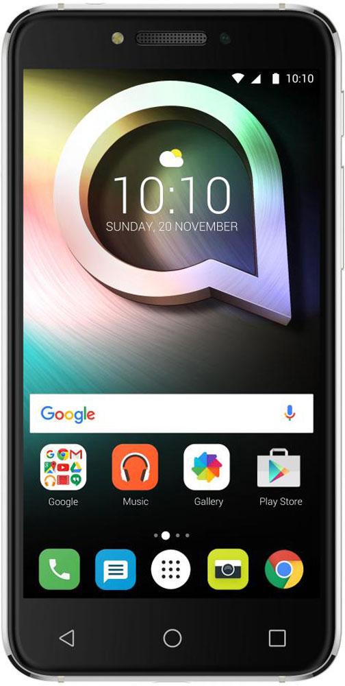 Alcatel OT-5080X Shine Lite, Prime Black5080X-2HALRU7Alcatel OT-5080X Shine Lite создан для тех, кто стремится жить ярко и ценит дизайн премиум-класса. Позволь себе сиять и в жизни и на фото благодаря камерам, обеспечивающим высококачественный уровень съёмки. Корпус смартфона выполнен из прочного стекла Dragontrail с закругленными краями, а также 2.5D эффектом. Благодаря олеофобному покрытию на корпусе не остаются отпечатки от рук. Благодаря уникальному покрытию смартфон выделяется среди остальных. Четырехядерный процессор MediaTek МТ6737 с частотой 1,3 ГГц отлично справится с повседневными задачами. Встроенной памяти 16 Гб хватит для сохранения большого количества информации, также можно расширить при помощи карты microSD до 128 Гб. Основная камера имеет 13-мегапиксельное разрешение и оснащена автофокусом, двойной вспышкой. Фронтальная камера с разрешением 5-мегапикселей отлично подходит для селфи и также имеет вспышку. Плавность линий и утонченная элегантность корпуса, притягательный блеск...