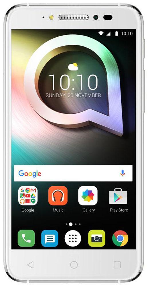 Alcatel OT-5080X Shine Lite, White4894461422152Alcatel OT-5080X Shine Lite создан для тех, кто стремится жить ярко и ценит дизайн премиум-класса. Позволь себе сиять и в жизни и на фото благодаря камерам, обеспечивающим высококачественный уровень съёмки. Корпус смартфона выполнен из прочного стекла Dragontrail с закругленными краями, а также 2.5D эффектом. Благодаря олеофобному покрытию на корпусе не остаются отпечатки от рук. Благодаря уникальному покрытию смартфон выделяется среди остальных. Четырехядерный процессор MediaTek МТ6737 с частотой 1,3 ГГц отлично справится с повседневными задачами. Встроенной памяти 16 Гб хватит для сохранения большого количества информации, также можно расширить при помощи карты microSD до 128 Гб. Основная камера имеет 13-мегапиксельное разрешение и оснащена автофокусом, двойной вспышкой. Фронтальная камера с разрешением 5-мегапикселей отлично подходит для селфи и также имеет вспышку. Плавность линий и утонченная элегантность корпуса, притягательный блеск...