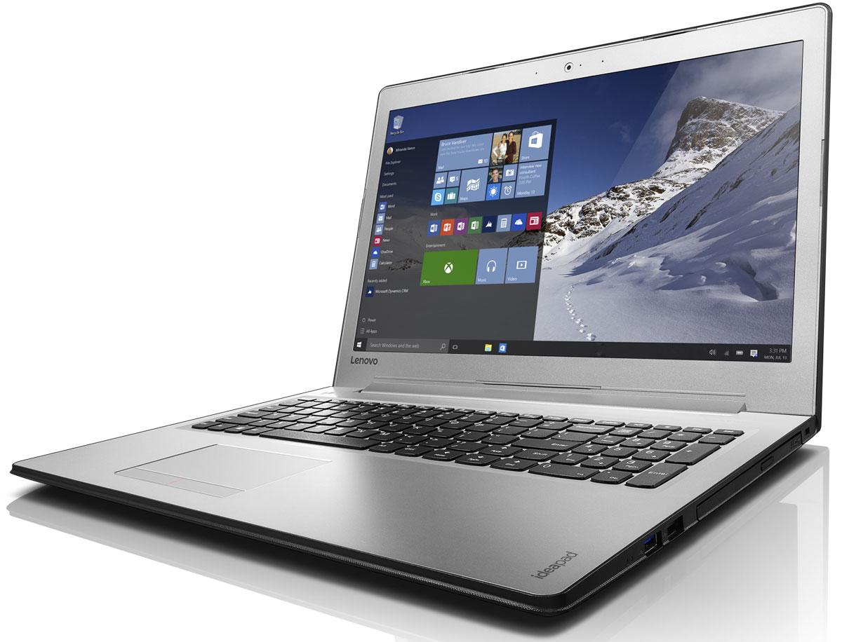 Lenovo IdeaPad 510-15IKB (80SV004RRK)80SV004RRKНоутбук Lenovo IdeaPad 510-15IKB с диагональю 15 дюймов оснащен процессором последнего поколения и обеспечивает впечатляющее качество звука и изображения. Это отличный помощник для работы и отдыха. Ноутбук оснащен дисплеем отличного качества. Доступна модель с 15,6-дюймовым дисплеем с разрешением Full HD (1920 x 1080) и матрицей IPS. Играйте в игры высокого разрешения, смотрите фильмы и общайтесь в видеочате — Lenovo Ideapad 510 обеспечит яркое и качественное изображение. Ideapad 510 позволяет выбрать необходимую конфигурацию ноутбука, которая соответствует бюджету. Благодаря поддержке дискретных видеокарт вплоть до NVIDIA GeForce 940M (опционально), Ideapad 510 обеспечивает невероятное качество визуализации графики при редактировании видео и в играх. Компьютер оснащен необходимыми технологиями памяти. Благодаря встроенному модулю памяти DDR4 (новое поколение оперативной памяти) ноутбук обеспечивает высокую производительность, низкое энергопотребление...