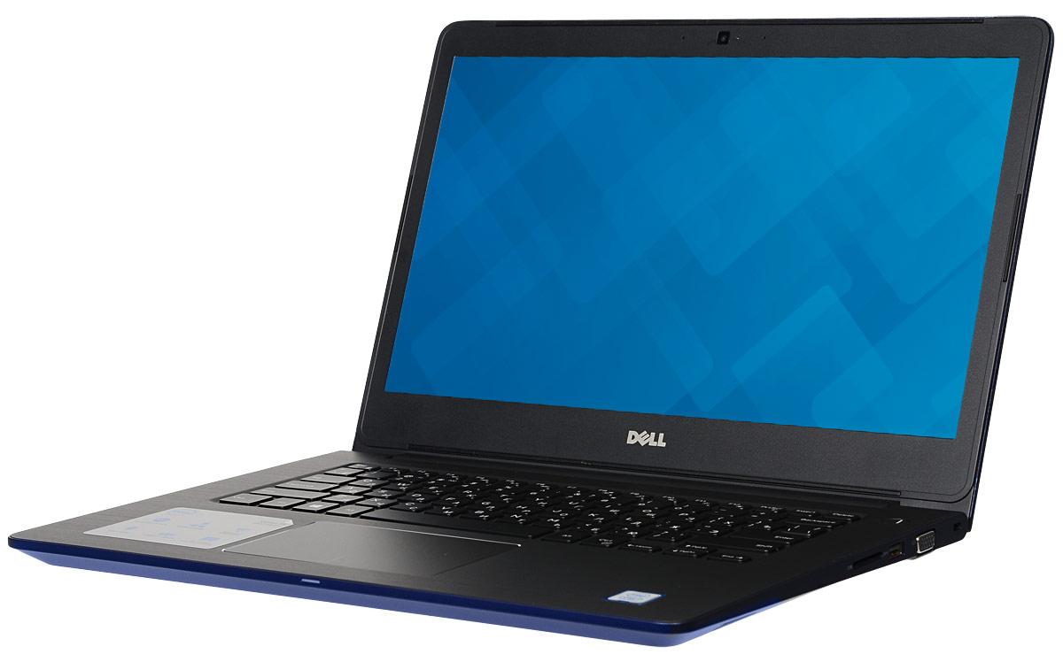 Dell Vostro 5468-2761, Blue5468-276114-дюймовый ноутбук Dell Vostro 5468 с процессором Intel Core i3 позволит вам в любое время сразу приступить к работе. Этот супертонкий ноутбук не только невероятно прочный, но и обладает стильным внешним видом. Красота Vostro 5468 - в деталях. Если вас завалило электронной почтой, высококачественная полноразмерная резиновая клавиатура и мультисенсорная панель с распознаванием жестов помогут вам легко и быстро ответить на любое письмо. Тонкий и легкий. Толщина устройства - всего 18,3 мм, а вес составляет всего лишь 1,53 кг. Компактный и изящный ноутбук Vostro 5468 можно легко положить в сумку и взять с собой куда угодно. Стереосистема формата 2.1 с поддержкой Waves MaxxAudio обеспечивает высокую четкость звука при воспроизведении музыки, просмотре видео и участии в конференциях. Vostro 5468 поддерживает аудиорешения Waves MaxxAudio, которые повышают качество звучания двух встроенных динамиков и сабвуфера. Легкость общения. Общайтесь с...