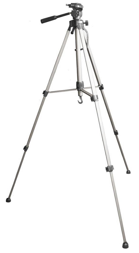 Continent A3 штативContinent A3Штатив Continent A3 предназначен для стабилизации камеры в любых условиях. Его ножки снабжены резиновыми накладками, препятствующими скольжению даже на ровной гладкой поверхности. Для устранения колебаний по вертикальной оси используется воздушный амортизатор и крюк для подвеса балансирного груза. Регулировка камеры по углу наклона осуществляется с помощью жидкостного уровня. Головка с трехмерным поворотным шарниром идеально подходит для съемки движущихся объектов без перемещения штатива. Трехсекционные складные ножки позволяют выбирать любую высоту расположения камеры в диапазоне 56-146 см. Блокиратор предотвращает их самопроизвольное складывание во время съемки.