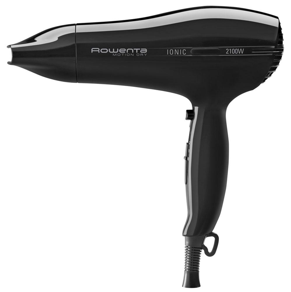 Rowenta CV3724F0 Motion Dry Ionic фенCV3724F0Высокая мощность, эргономичный дизайн и легкость - это только часть того, чем может похвастаться Rowenta CV3724F0 из линейки Motion Dry от Rowenta. Три режима работы позволяют регулировать температуру и защитить волосы от перегревания. Концентратор поможет сделать профессиональную укладку, как в салоне красоты. Благодаря режиму подачи холодного воздуха вы сможете зафиксировать полученный результат надолго. Отличительной чертой Rowenta CV3724F0 является функция ионизации воздуха, благодаря которой ваши волосы не пересушатся и наполнятся блеском.