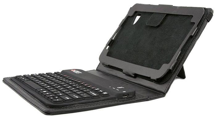 Liberty Project чехол-клавиатура для Samsung P6200/P3100/P1000 (ST-BRK3900BC), BlackCD015432Чехол Liberty Project со встроенной клавиатурой с удобным расположением клавиш обеспечивает быстрый и точный ввод текста в привычном режиме. Для зарядки клавиатуры имеется разъем USB. Аксессуар также гарантирует доступ ко всем разъемам и кнопкам вашего устройства. Материал: полиуретан