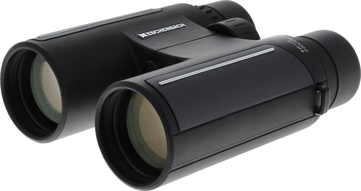 Бинокль Eschenbach Farlux Selector D, 8,5 х 45 В4274845Бинокль Eschenbach Farlux Selector D - это лучший выбор для охотников, орнитологов и взыскательных любителей природы. Особое покрытие обеспечивает идеальную цветопередачу, яркое и высококонтрастное изображение. Корпус бинокля выполнен из высококачественного металла и покрыт антискользящим резиновым слоем. Изделие оснащено ремешком для переноски на шее. В комплект входит текстильный чехол для переноски и хранения и деревянный футляр.