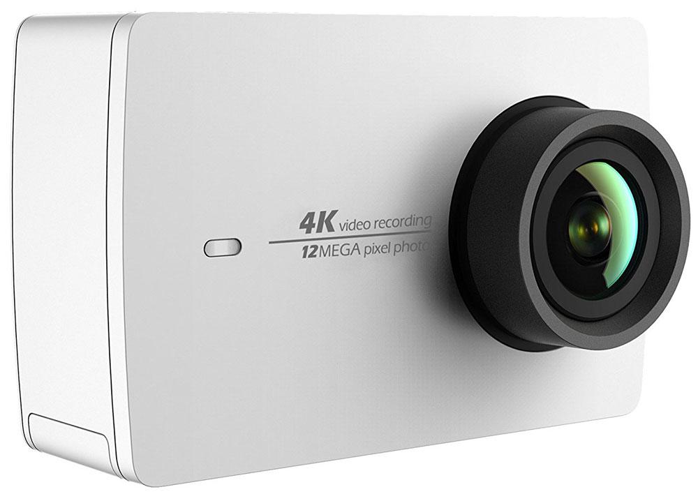 Xiaomi YI 4K, White экшн камера90001Xiaomi YI 4K обеспечит максимальное качество, универсальность и простоту использования. Новое поколение процессоров Ambarella A9SE75, сенсор Sony IMX377, 7-элементные стеклянные линзы. Запись 4K/30fps со скоростью 60 mbps, в 4 раза качественнее, чем 1080p. Экшн-камера Xiaomi YI 4K берет новую высоту! 7-элементная стеклянная линза с апертурой F2.8 позволяет поймать больше света и сделать кадры четче и детальнее. Специально изготовленный сенсорный экран с высоким разрешением и плотностью 330ppi для интуитивного управления. Дисплей с диагональю 2.19 дюйма (5.5 см) покрыт Gorilla Glass для защиты от царапин и ударов. Угол обзора экрана 160°. Вы не пропустите лучший кадр на широком дисплее с разрешением 640х360 пиксел и сможете просмотреть снятый материал. Управляйте Xiaomi YI 4K кончиками пальцев одной руки, вторая рука не понадобится. Литий-ионная батарея емкостью 1400 мАч и напряжением 4.4В поставляется от ведущего мирового производителя...