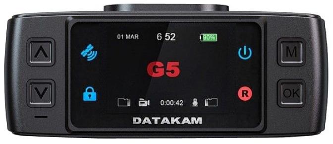 Datakam G5-City Max BF Limited, Black видеорегистраторG5-City Max BF LIMITED