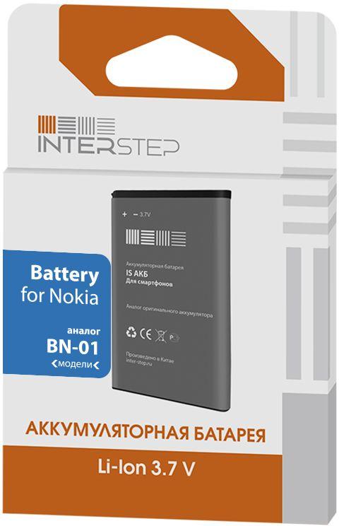 Interstep аккумулятор для Nokia X/X+ (1450 мАч) IS-AK-NOKBN01BK-145B201
