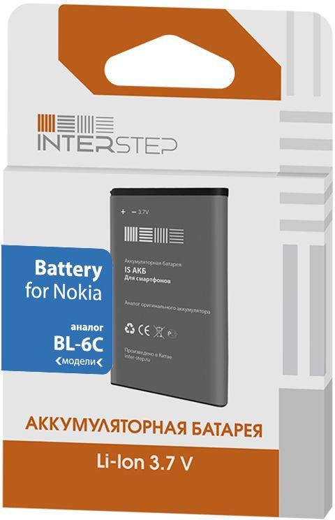 Interstep аккумулятор для Nokia 110/111/112/113 (1150 мАч) аккумулятор interstep для nokia 5310 850 мач