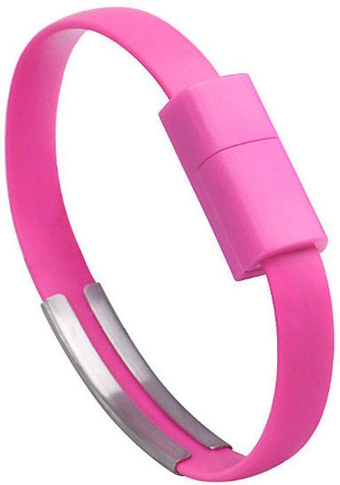 IQ Format, Pink кабель-браслет USB-micro USB4627104426541Оригинальный кабель IQ Format в виде браслета удобно всегда носить с собой. Предназначен для зарядки планшетов, смартфонов, электронных читалок и прочих мобильных устройств. Также кабель можно использовать для подключения портативных устройств к персональному компьютеру.