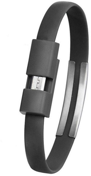 IQ Format, Black кабель-браслет USB-micro USB4627104426596Оригинальный кабель IQ Format в виде браслета удобно всегда носить с собой. Предназначен для зарядки планшетов, смартфонов, электронных читалок и прочих мобильных устройств. Также кабель можно использовать для подключения портативных устройств к персональному компьютеру.
