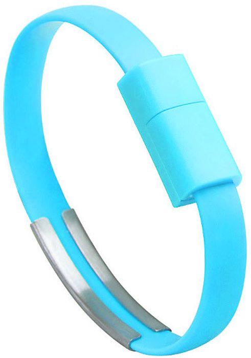 IQ Format, Blue кабель-браслет USB-micro USB4627104426619Оригинальный кабель IQ Format в виде браслета удобно всегда носить с собой. Предназначен для зарядки планшетов, смартфонов, электронных читалок и прочих мобильных устройств. Также кабель можно использовать для подключения портативных устройств к персональному компьютеру.
