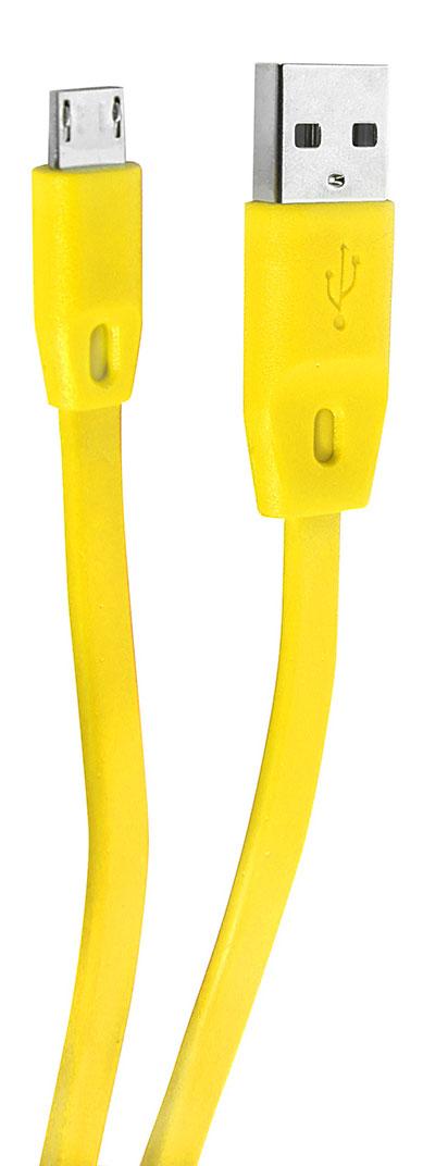 Remax 160, Yellow кабель USB-microUSB4627112730838Кабель Remax 160 позволяет подключить планшет, смартфон, электронную читалку и прочие мобильные устройства с разъемом microUSB к порту USB на компьютере для синхронизации и зарядки. Кроме того, его можно подключить к адаптеру питания USB, чтобы зарядить устройство от розетки. Remax 160 - незаменимая и качественная деталь для повседневной жизни.