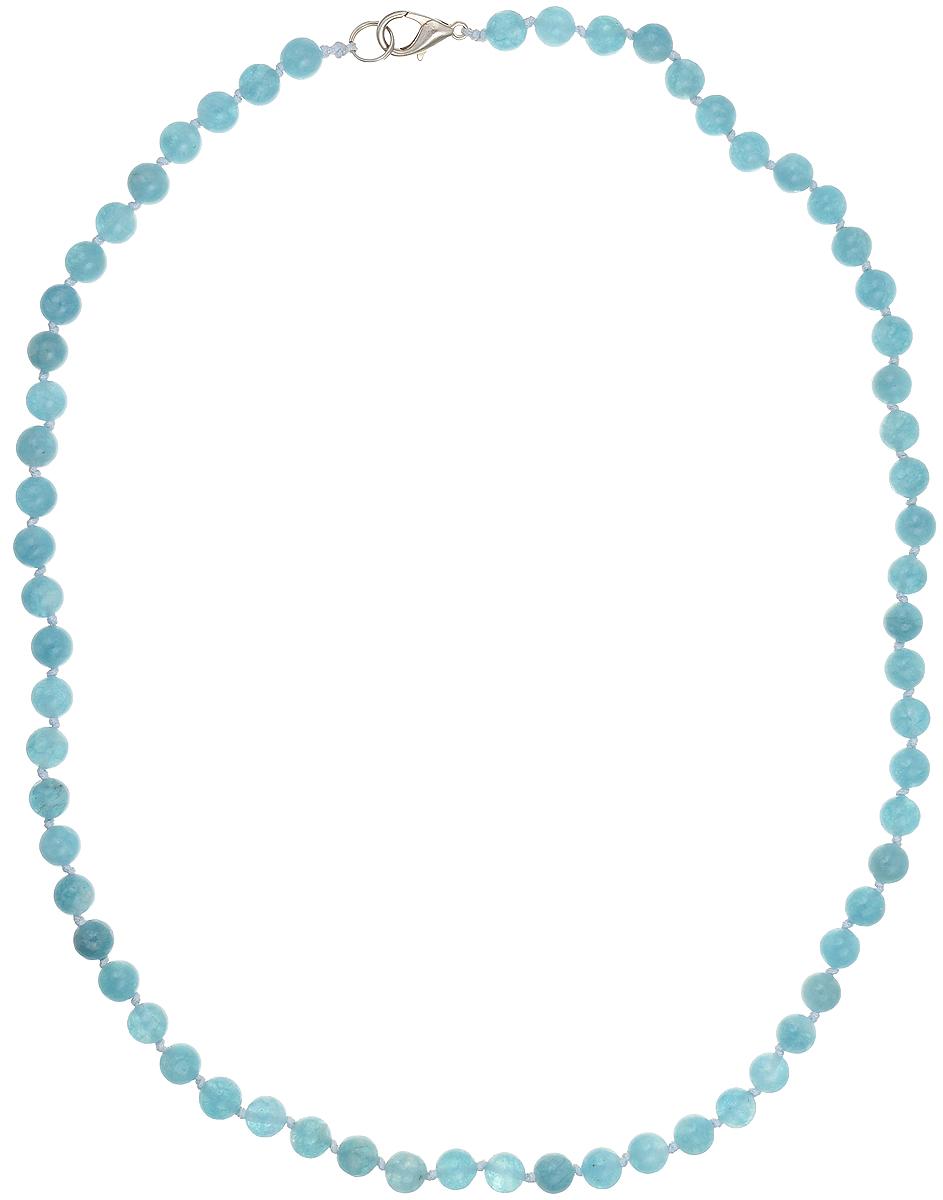 Бусы Art-Silver, цвет: голубой, длина 50 см. АК6-50-239