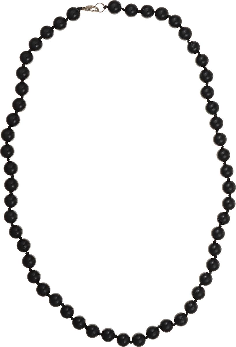 Бусы Art-Silver, цвет: черный, длина 65 см. ЧА10-65-447ЧА10-65-447Бусы Art-Silver подчеркнут изящество и непревзойденный вкус своей обладательницы. Они выполнены из бижутерного сплава и бусин из агата диаметром 10 мм. Изделие оснащено удобным замком-карабином. Агаты отличаются необыкновенным разнообразием окрасок и рисунков, но все они приносят владельцу чувства уверенности, спокойствия, равновесия. Украшения из агата защитят вас от энергетических вампиров и принесут счастье. Бусы из этого благородного камня выглядят как произведение искусства. Такое украшение станет изюминкой вашего образа и добавит лоск и элегантность.