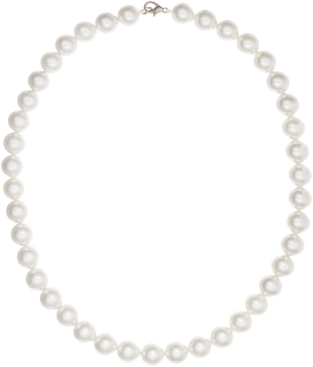 Бусы Art-Silver, цвет: белый, длина 53 см. МАЙ51255-661МАЙ51255-661Бусы Art-Silver выполнены из бижутерного сплава и искусственного жемчуга. Изделие оснащено удобным замком-карабином.