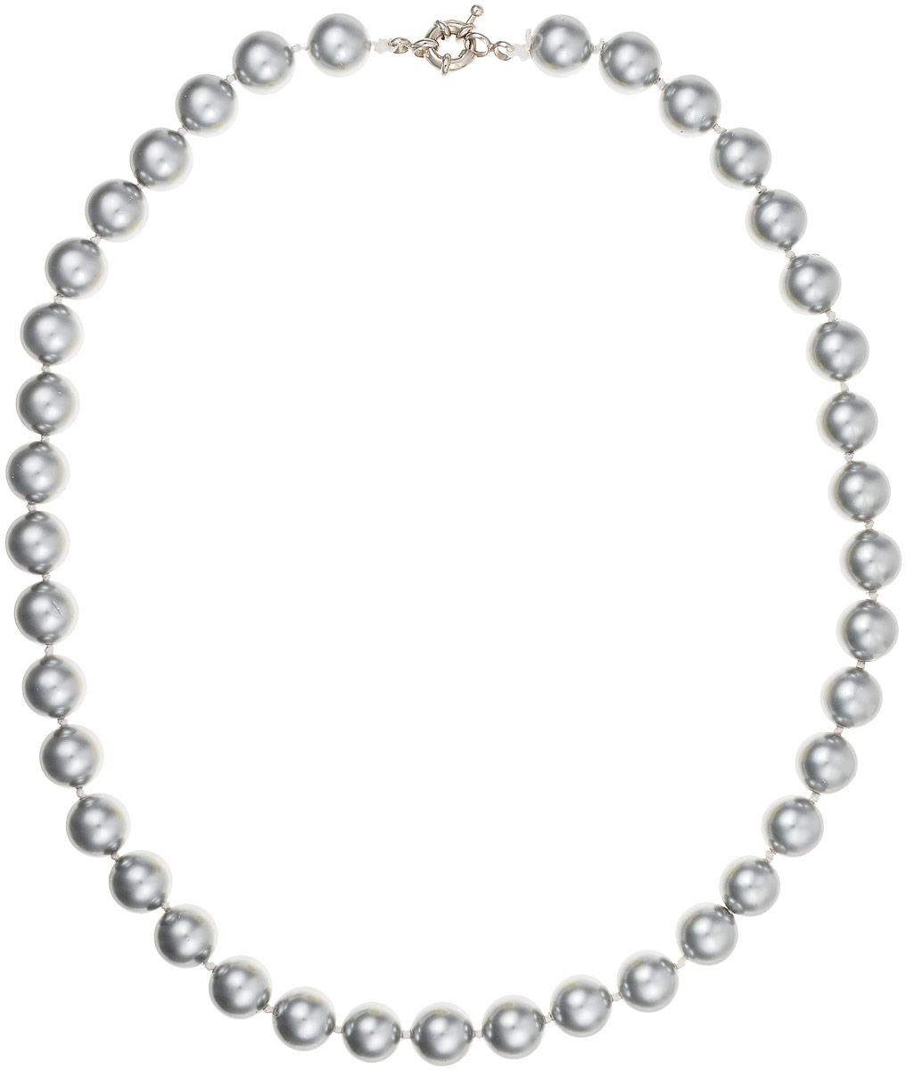 Бусы Art-Silver, цвет: серебристый, длина 50 см. МАЙ31045-432МАЙ31045-432Бусы Art-Silver выполнены из имитации жемчуга, нанизанного на текстильную нить. Украшение дополнено крупным удобным шпренгельным замочком из бижутерного сплава. Бусины диаметром 8 мм выполнены в оригинальном серебристом цвете. Материал бусин по свойствам и виду максимально близок к натуральному жемчугу.