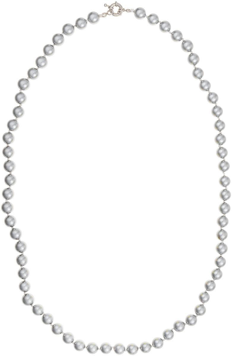 Бусы Art-Silver, цвет: серый, длина 60 см. МАЙ30860-459МАЙ30860-459Бусы Art-Silver выполнены из бижутерного сплава и искусственного жемчуга. Изделие оснащено удобной шпренгельной застежкой.