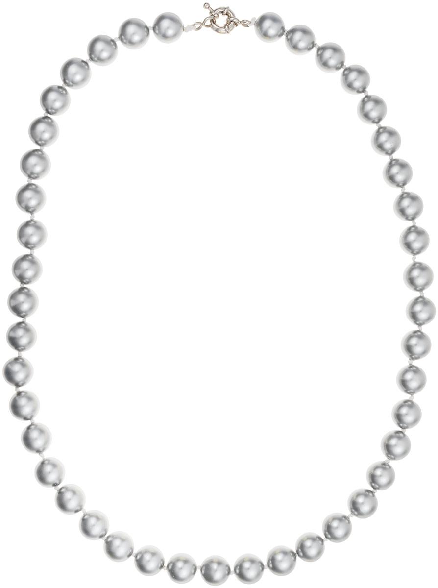 Бусы Art-Silver, цвет: серый, длина 50 см. МАЙ31050-513МАЙ31050-513Бусы Art-Silver выполнены из бижутерного сплава и искусственного жемчуга. Изделие оснащено удобной шпренгельной застежкой.