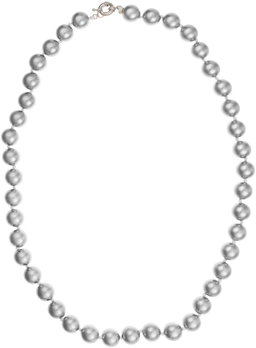 Бусы Art-Silver, цвет: серебристый, длина 60 см. МАЙ31260-743МАЙ31260-743Бусы Art-Silver выполнены из имитации жемчуга, нанизанного на текстильную нить. Украшение дополнено крупным удобным шпренгельным замочком из бижутерного сплава. Бусины диаметром 10 мм выполнены в оригинальном серебристом цвете. Материал бусин по свойствам и виду максимально близок к натуральному жемчугу.