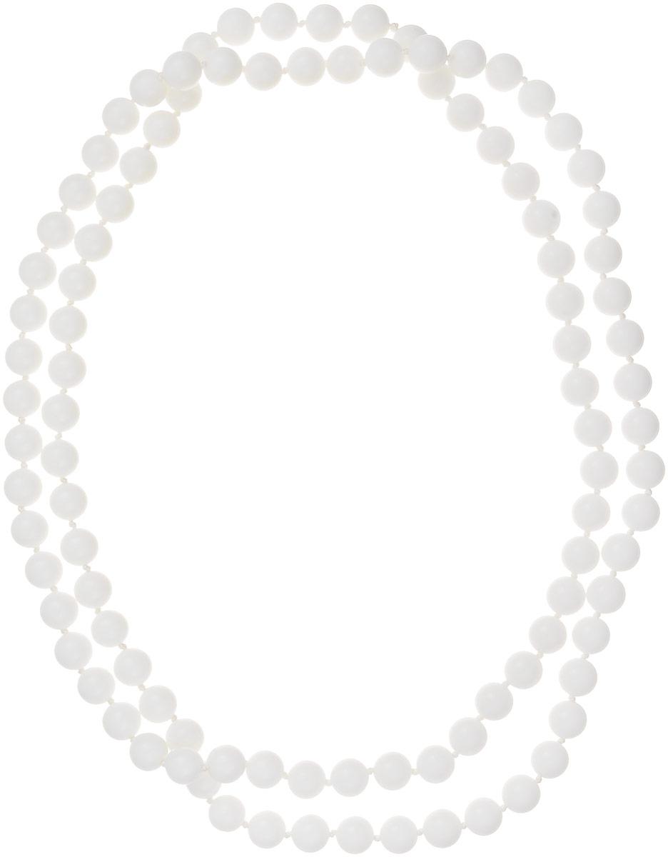 Бусы Art-Silver, цвет: белый, длина 120 см. КХ10-120-594КХ10-120-594Бусы Art-Silver выполнены из белоснежного кахолонга, нанизанного на текстильную нить. Украшение не имеет застежек, благодаря чему его удобно надевать и снимать. Бусины диаметром 10 мм из натурального кахолонга, который также называют калмыцким агатом, имеют благородный белый цвет, который превосходно подойдет как к вечерним, так и к повседневным нарядам.