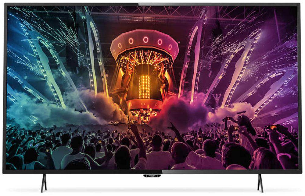 Philips 55PUT6101/60 телевизорPhilips 55PUT6101/60Оцените многофункциональность, утонченность и удобство подключения модели Philips 55PUT6101/60 , которая воспроизводит детализированное изображение с разрешением 4К Ultra HD. Встроенная система Smart TV проста в управлении, что обеспечит вам развлечение без границ. Телевизор Ultra HD в 4 раза превосходит разрешение обычного телевизора Full HD. Благодаря 8 миллионам пикселей и уникальной технологии Ultra Resolution качество изображения не будет зависеть от исходного контента. Улучшенная четкость и глубина изображения, великолепный контраст, плавное и естественное движение и безупречная детализация. Изящный, современный, лаконичный дизайн. Неудивительно, что ультратонкий силуэт телевизора Philips притягивает к себе взгляд — это идеальное решение, которое прекрасно дополнит любой интерьер. Откройте для себя интеллектуальные возможности этого телевизора. Настраивайте потоковую передачу фильмов, видео или игр, приобретая их в...